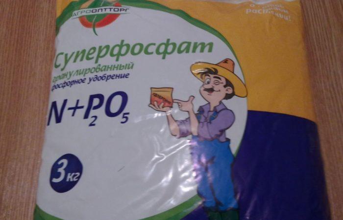 Подкормка Суперфосфат