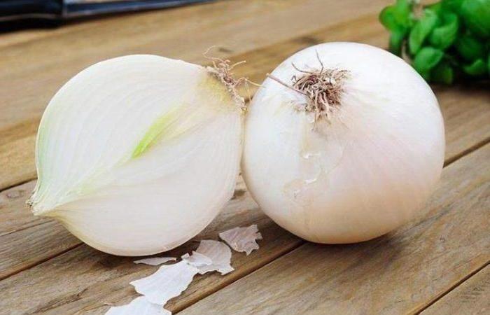 Две белые луковицы