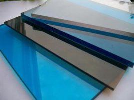 Классификация сотового и виды монолитного поликарбоната